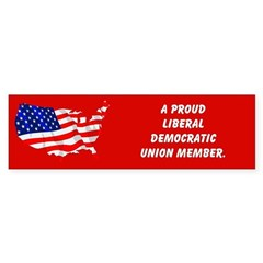 Proud Union Member Bumper Bumper Sticker