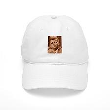 John F. Kennedy Sepia Tone Baseball Cap