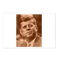 John F. Kennedy Sepia Tone Postcards (Package of 8