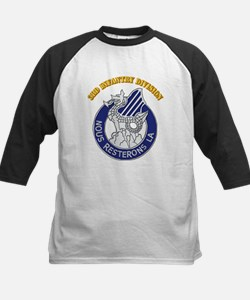 DUI - 3rd Infantry Division with Text Tee