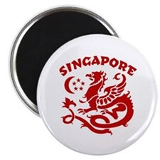 Singapore Dragon Magnet