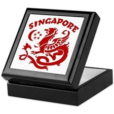 Singapore Dragon Keepsake Box