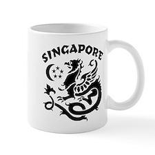 Singapore Dragon Coffee Mug