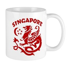 Singapore Dragon Small Mug