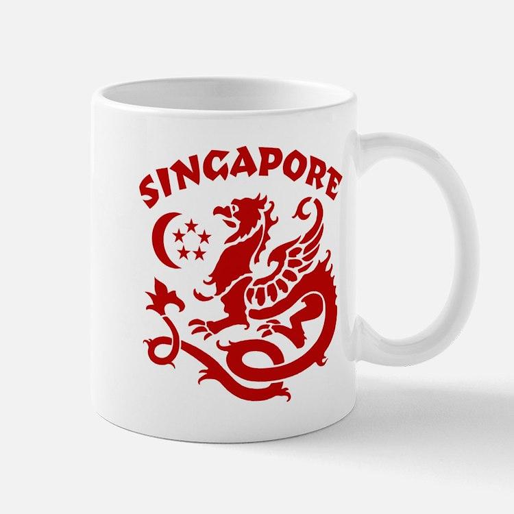 Singapore Dragon Small Small Mug