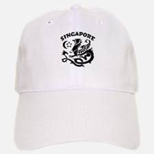 Singapore Dragon Baseball Baseball Cap
