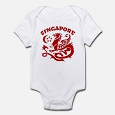 Singapore Dragon Onesie