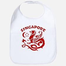 Singapore Dragon Bib
