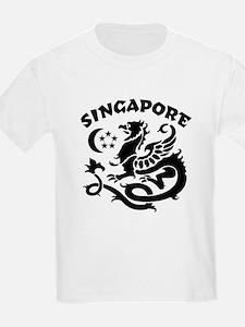 Singapore Dragon Kids T-Shirt