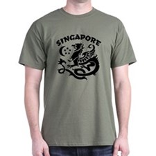 Singapore Dragon T-Shirt