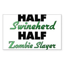 Half Swineherd Half Zombie Slayer Decal