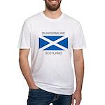 Dunfermline Scotland Fitted T-Shirt