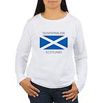 Dunfermline Scotland Women's Long Sleeve T-Shirt