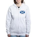 Dunfermline Scotland Women's Zip Hoodie