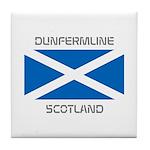 Dunfermline Scotland Tile Coaster