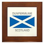 Dunfermline Scotland Framed Tile
