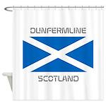 Dunfermline Scotland Shower Curtain