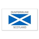 Dunfermline Scotland Sticker (Rectangle)