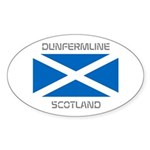 Dunfermline Scotland Sticker (Oval)