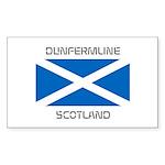 Dunfermline Scotland Sticker (Rectangle 50 pk)