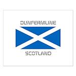 Dunfermline Scotland Small Poster