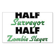 Half Surveyor Half Zombie Slayer Decal