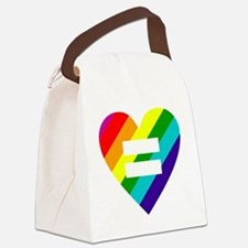 Cute Gay marriage Canvas Lunch Bag