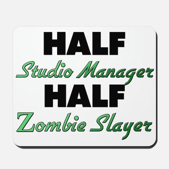 Half Studio Manager Half Zombie Slayer Mousepad
