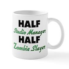 Half Studio Manager Half Zombie Slayer Mugs