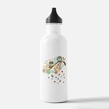 Autumn Owl Water Bottle