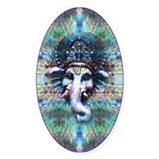 Psychedelic Ganesh Decal