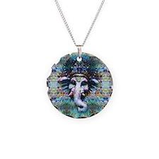Psychedelic Ganesh Necklace