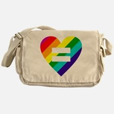 Cute Marriage equality Messenger Bag