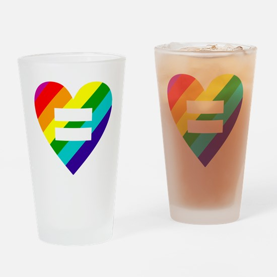 Funny Equality Drinking Glass