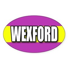 Wexford Oval Decal