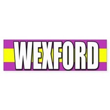 Wexford Bumper Car Sticker