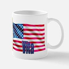 Vita American Flag Gift Mug
