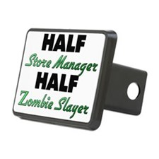 Half Store Manager Half Zombie Slayer Hitch Cover