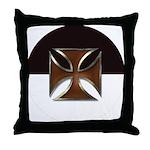 Templar Beauseant Throw Pillow