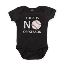 There Is No Baseball Offseason Baby Bodysuit