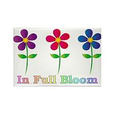 In Full Bloom Rectangle Magnet