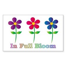 In Full Bloom Decal
