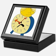 Angry Alarm Clock Keepsake Box