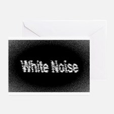 White Noise Greeting Cards (Pk of 10)