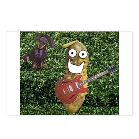 Rocker Pickle on Grass Postcards (Package of 8)