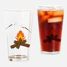 marshmallow hell Drinking Glass