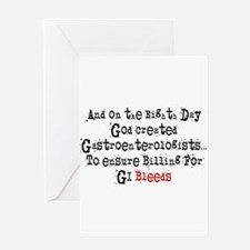 eighth Day gastro Greeting Cards
