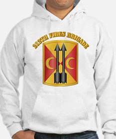 SSI - 212th Fires Brigade with Text Hoodie