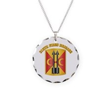 SSI - 212th Fires Brigade with Text Necklace