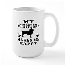 My Schipperke makes me happy Mug